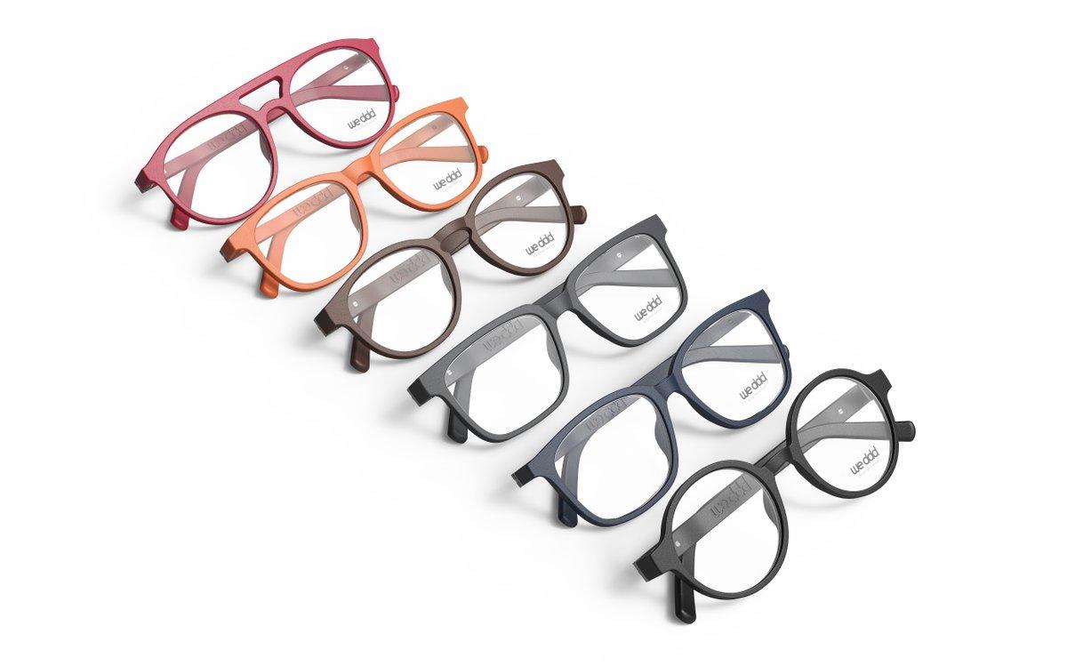 3D printed Yuniku glasses eyewear materialise