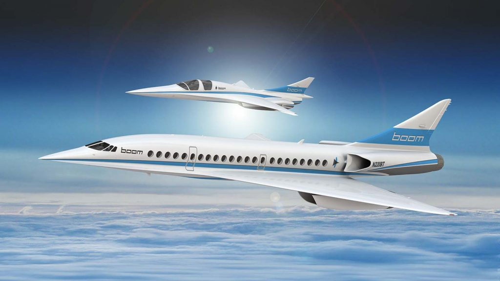 Boom Supersonic Design HERO