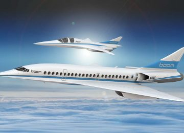 Boom Supersonic Design HERO