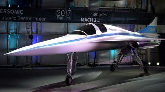 XB1 Boom Supersonic