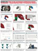 Autodesk Fusio 360 generative design workflow