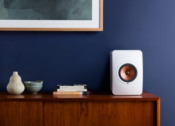 KEF Speakers Design LS50