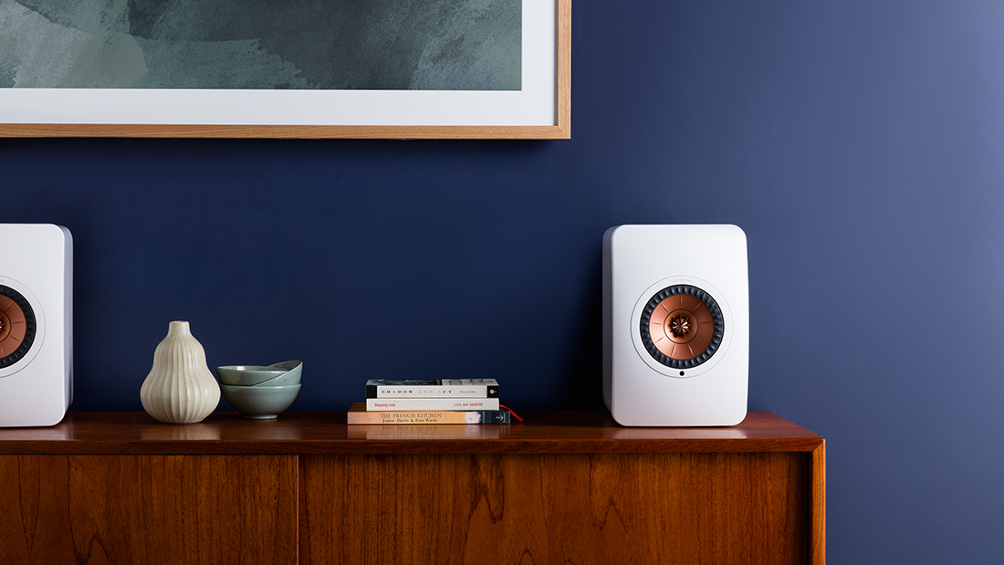 KEF Speakers Design LS50