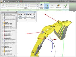 Autodesk Assembly Motion Simulation