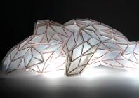 Alice Grunle's polymorph lamp