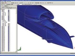 Bloodhound supersonic car using CADfix