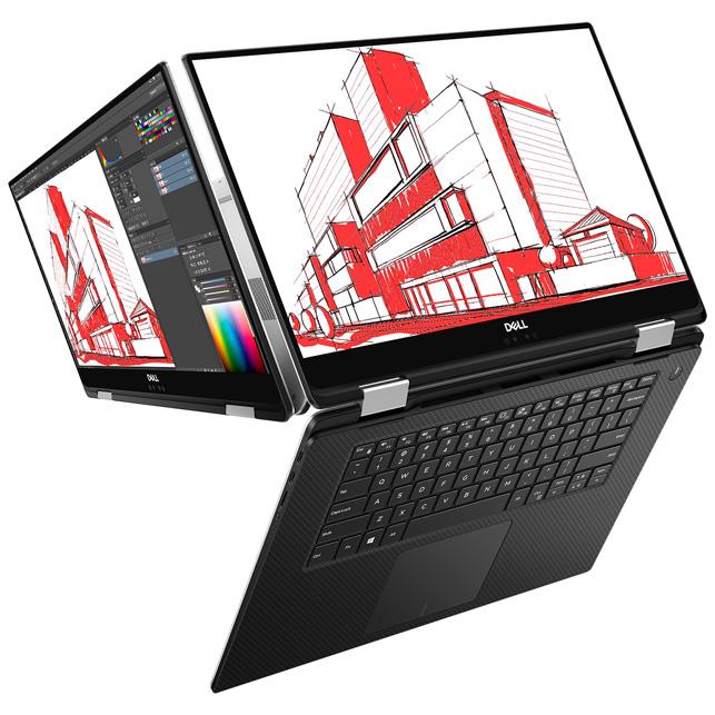 Dell Precision 5530 2-in-1 flip to sketch