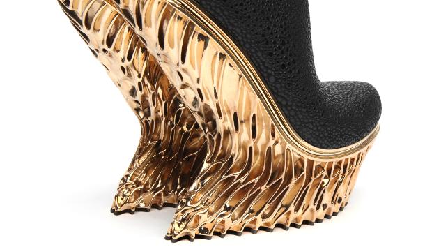 3D printed Mutatio shoe heel