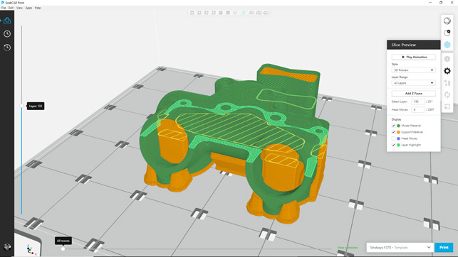 Stratasys F123 Series Review Grabcad screenshot