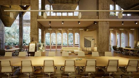 Interior scene Nvidia Iray