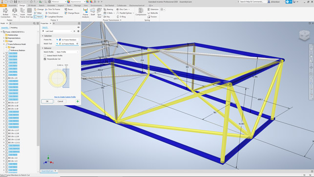 Autodesk Inventor Review Frame Generator