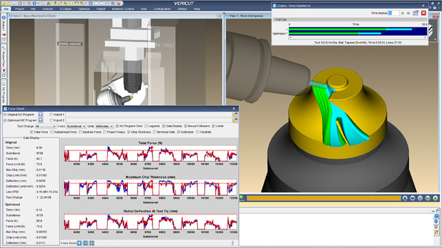 CGTech's Vericut 9 CNC simulation, verification and optimisation software