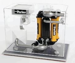 Parker Model of the CBRN filtration system