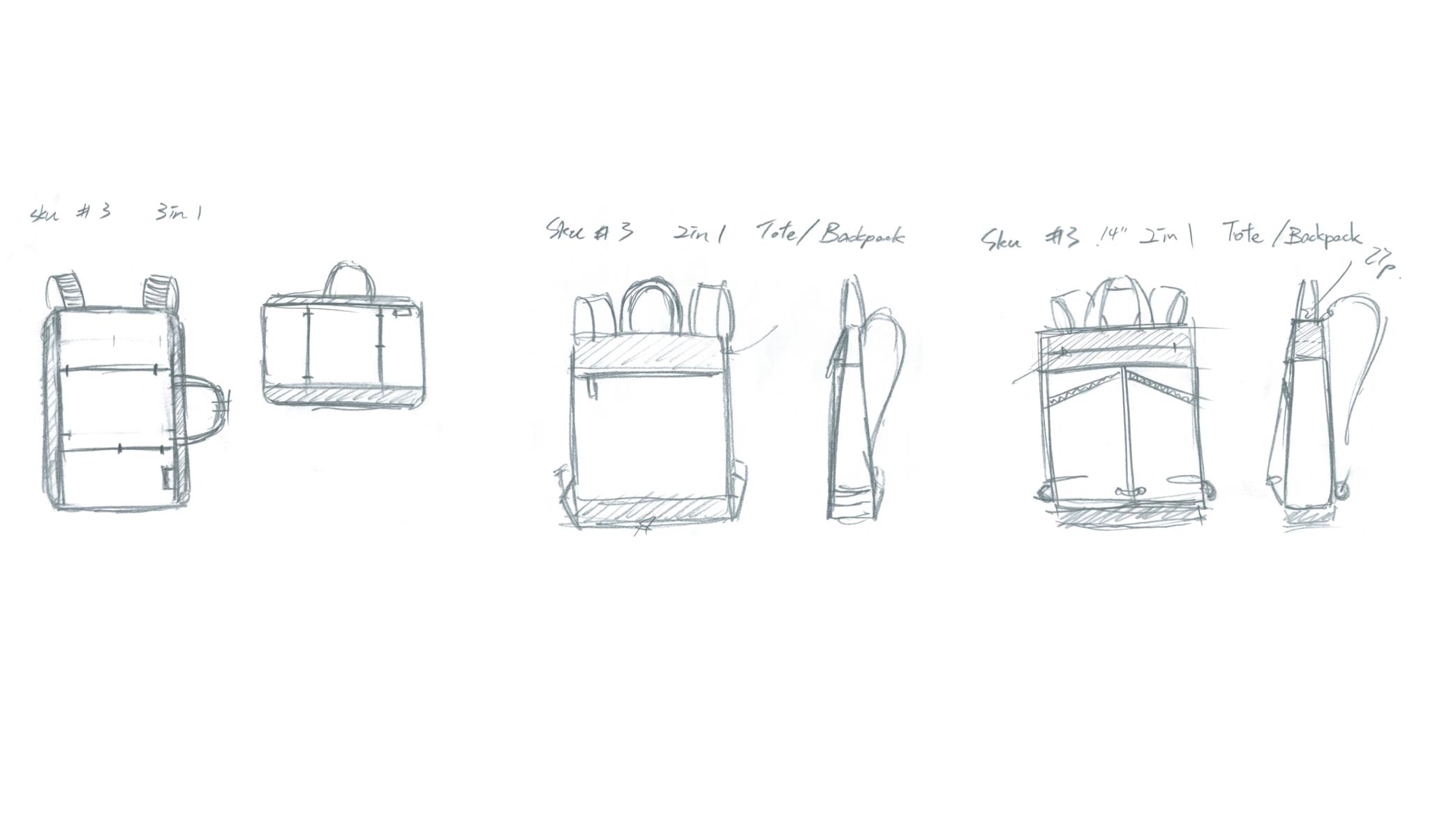 Targus Concept Sketches