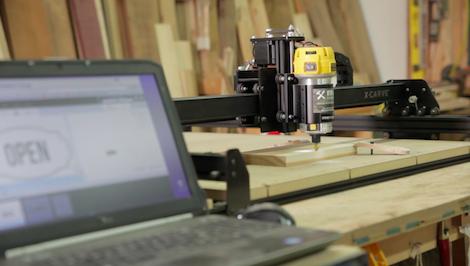 Easel Inventables x-carve workshop