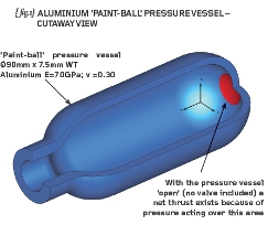 paint ball pressure vessel
