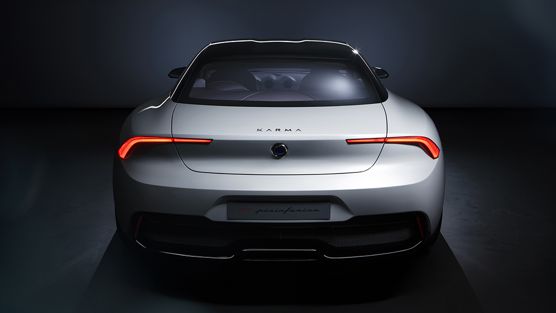 Karma Pininfarina Design Rear