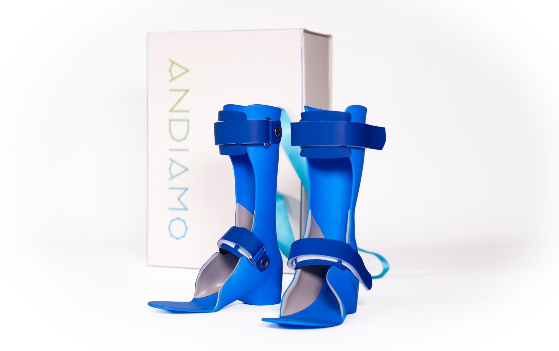 Andiamo 3D printed leg splints