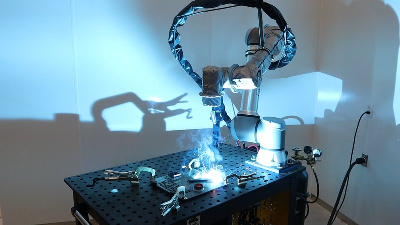 Universal Robots Vectis welding cobot