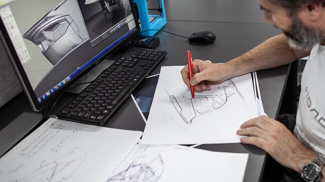 bac mono Design sketch alias E