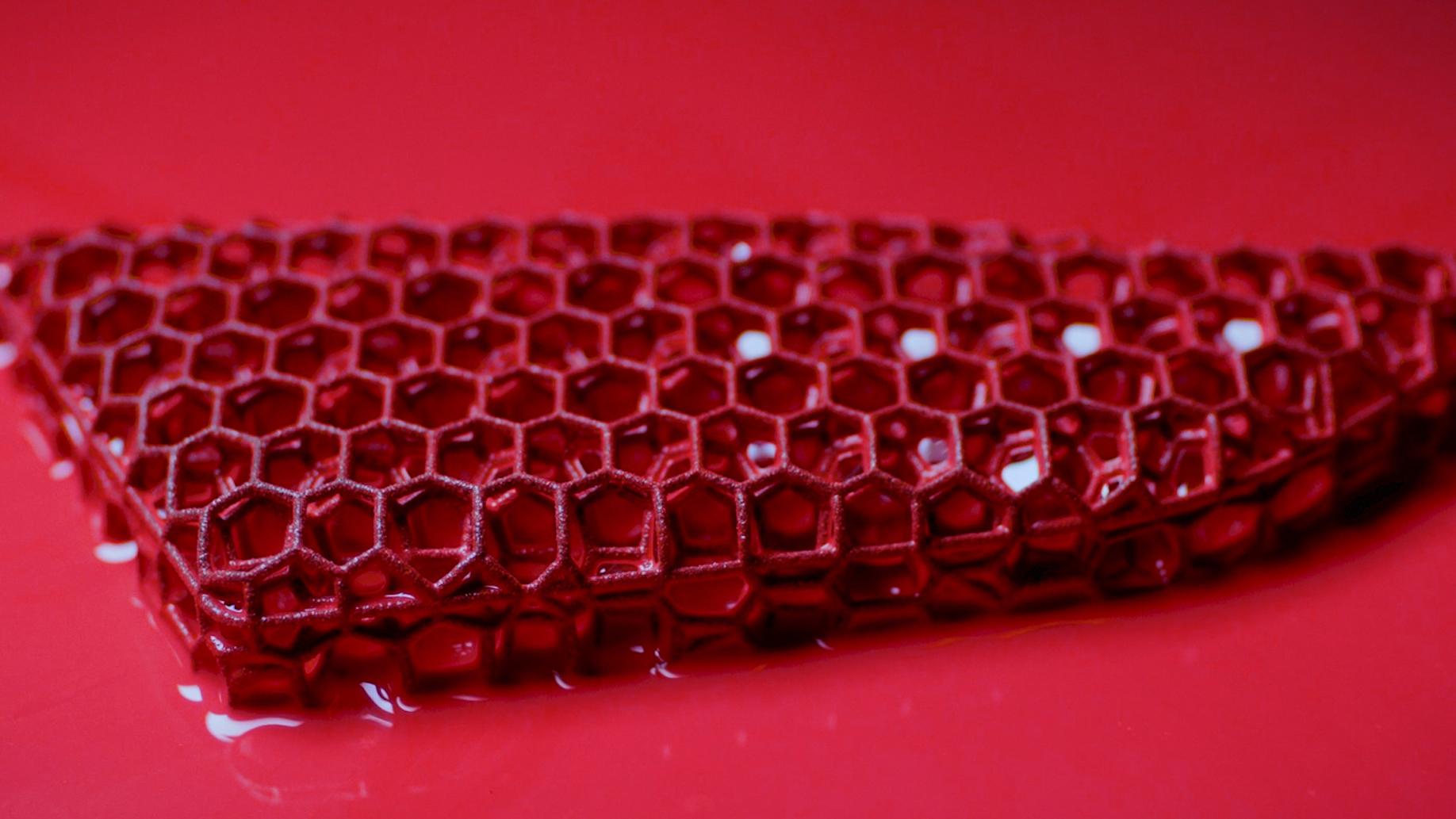 porsche 3D FoamSeat red close