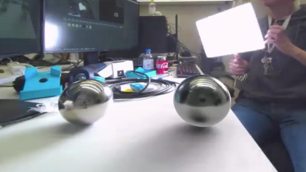 Varjo Mixed Reality Light Testing