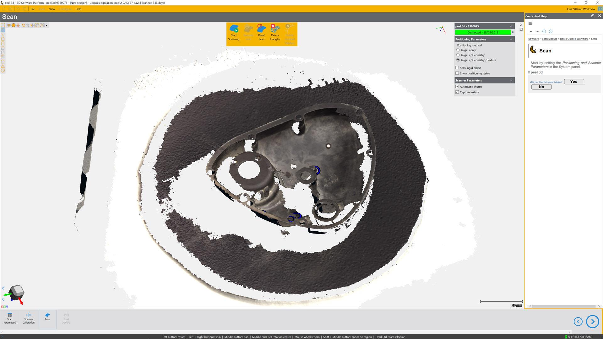 Peel 3D software