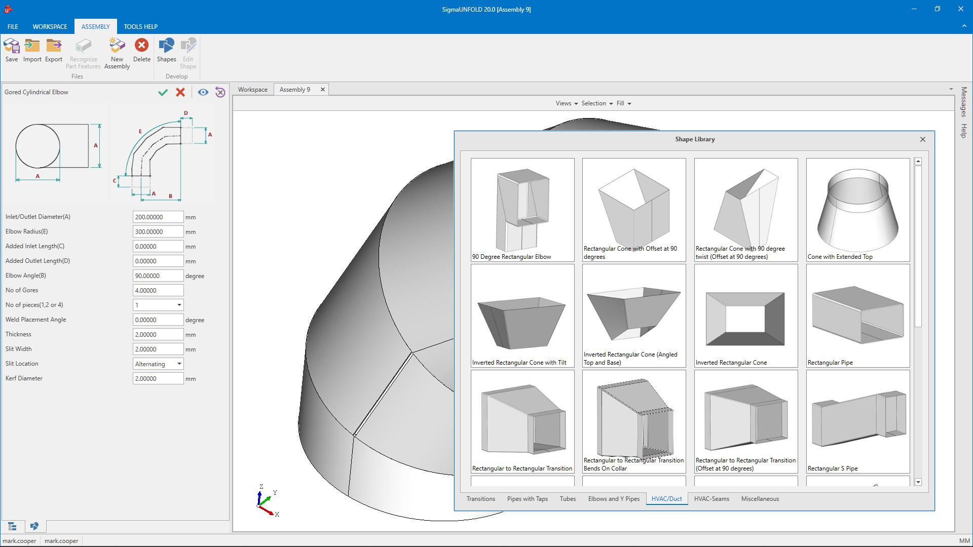 SigmaNest software