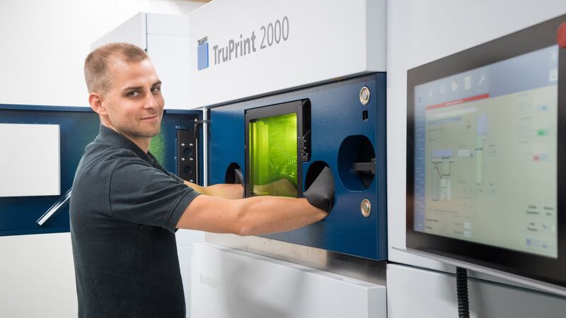 Trumpf Truprint200 3D printer