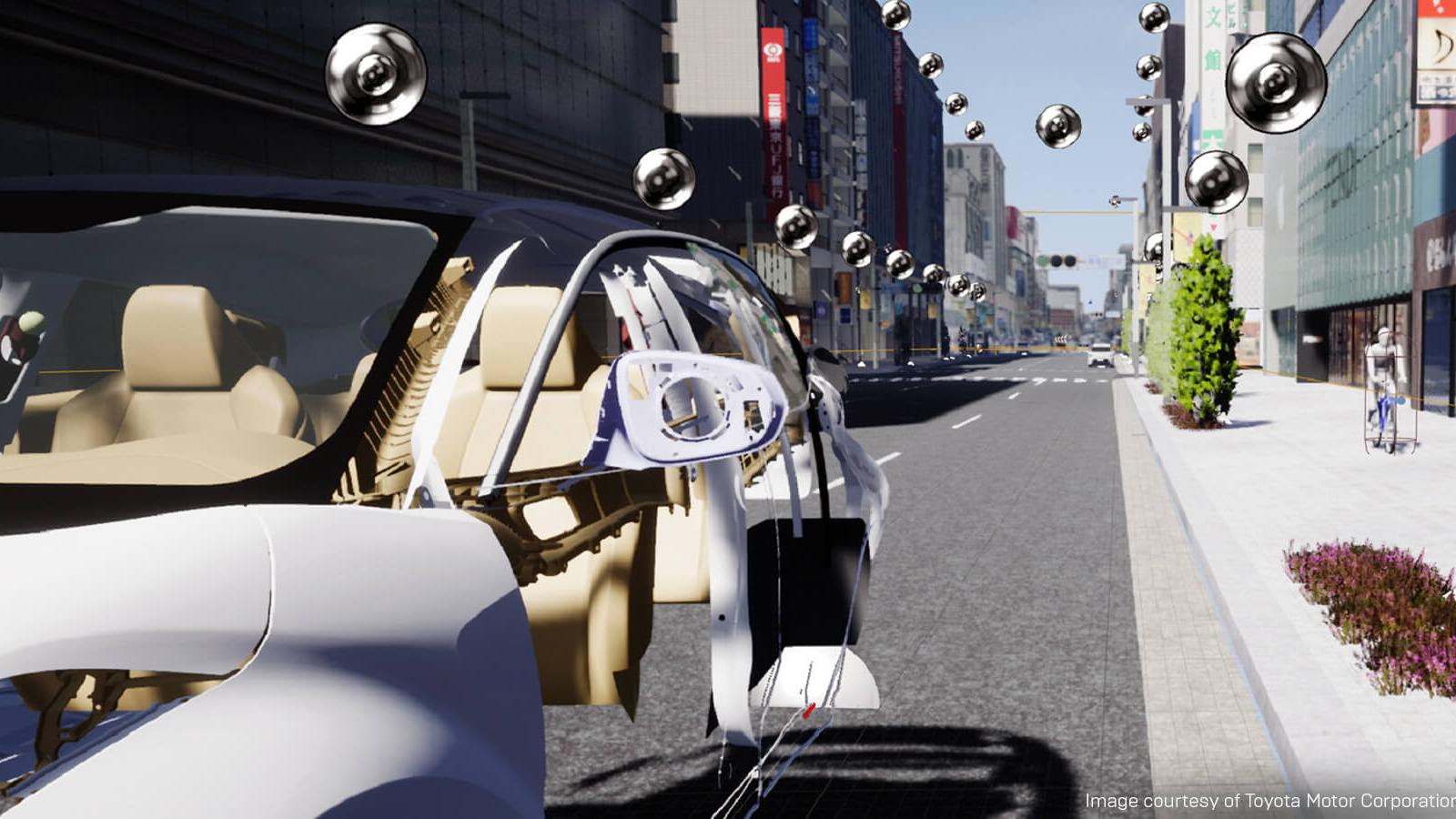 Unreal+Engine-toyota-exterior shot