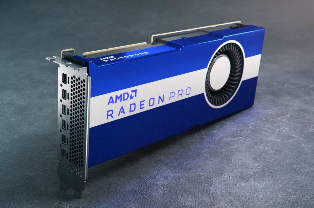 AMD Radeon Pro VII hero image