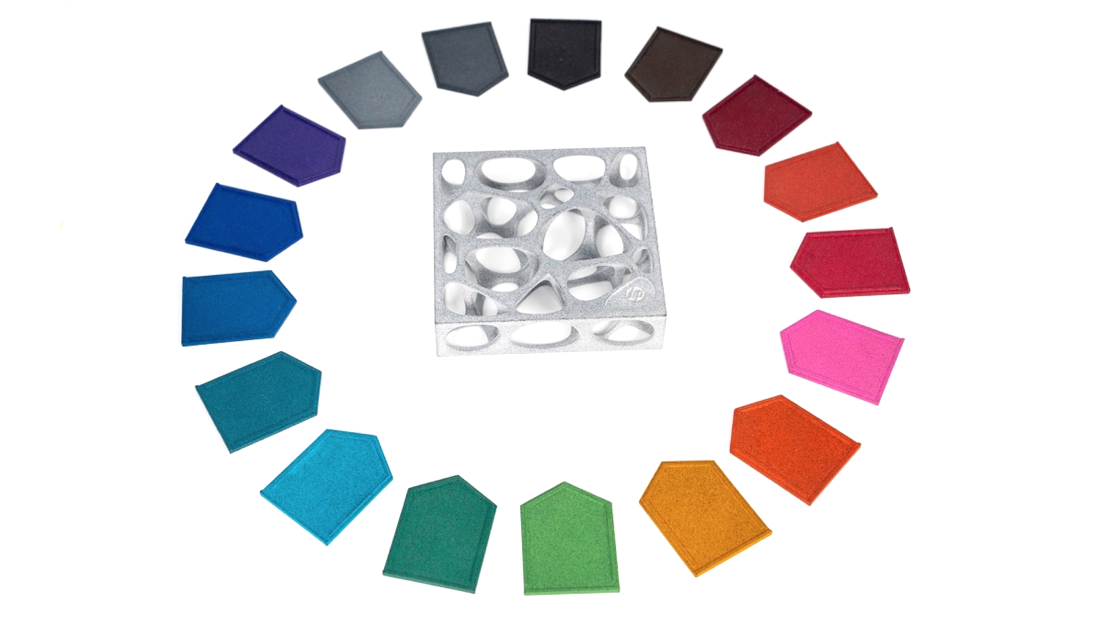 Dyemansion 17 new colours for HP 3D printers nylon dye