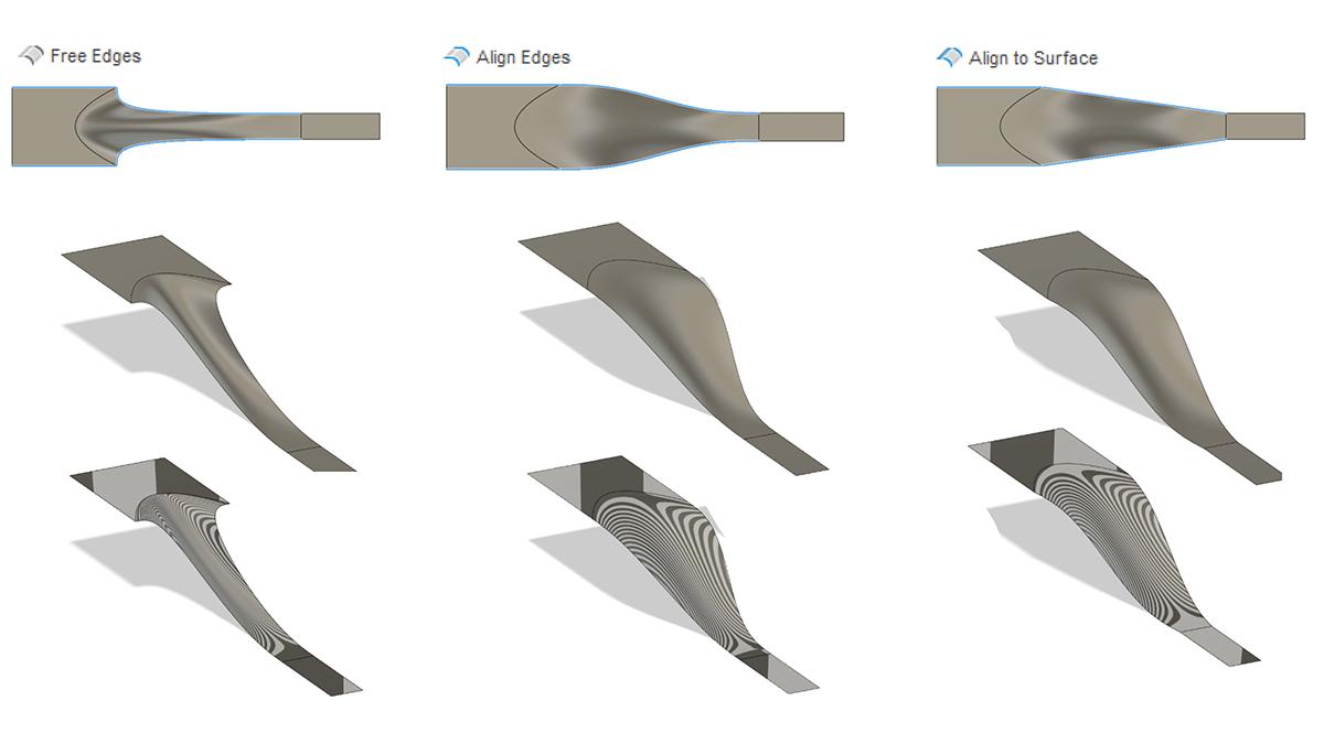 Fusion 360 May Updates - Loft Surfaces