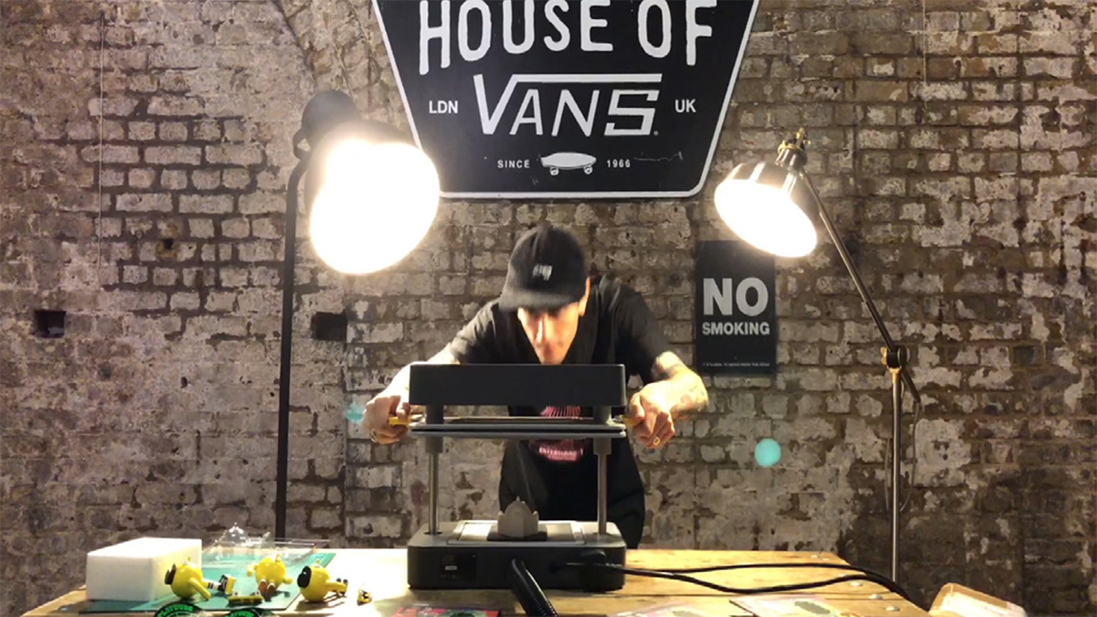 In-house vac-forming Playdude Mayku Formbox Packaging VANS