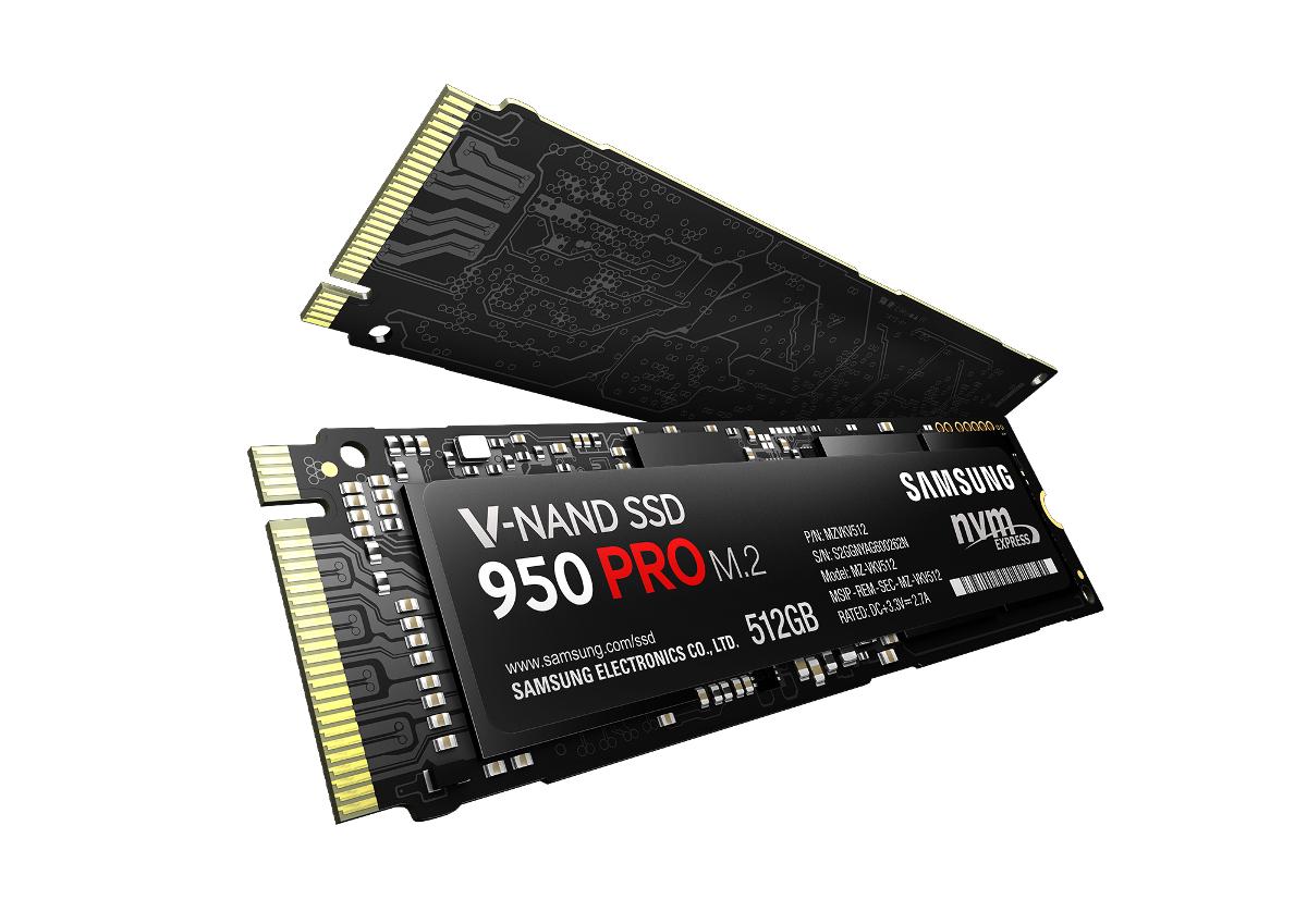 Simulation Samsung SSd 950 Pro