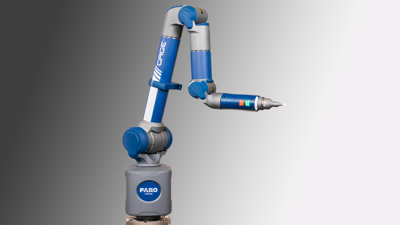 Faro Gage arm is high accuracy
