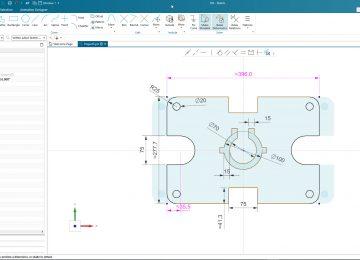 sketcher in Siemens NX