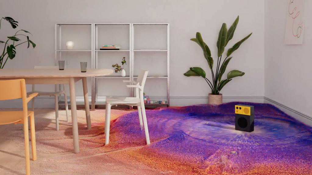 IKEA x Space 10 Sound Simulation AI