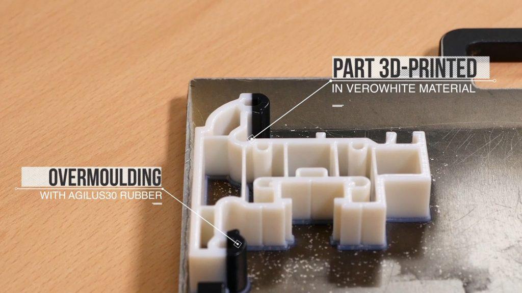 Liniar 3D printed uPVC window frame joint prototype