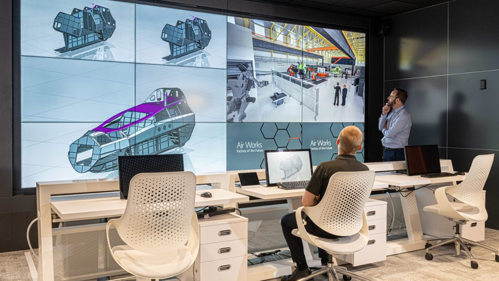 BAE Systems Factory of the Future design