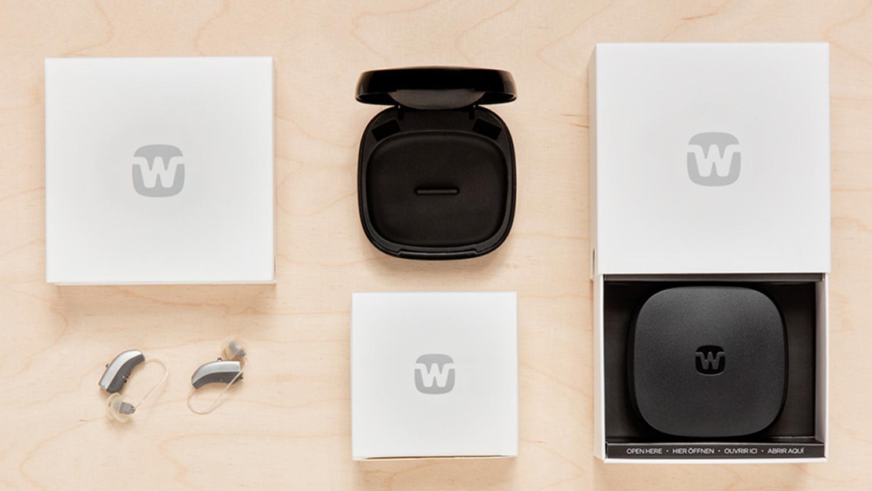 Splitvision widex hearing aid