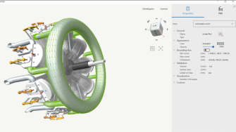3D CAD viewer and converter