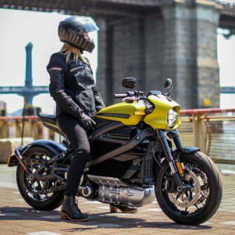 Harley Davidson LiveWire NYC 2019