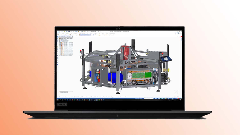 Lenovo ThinkPad p1 gen3 CAD