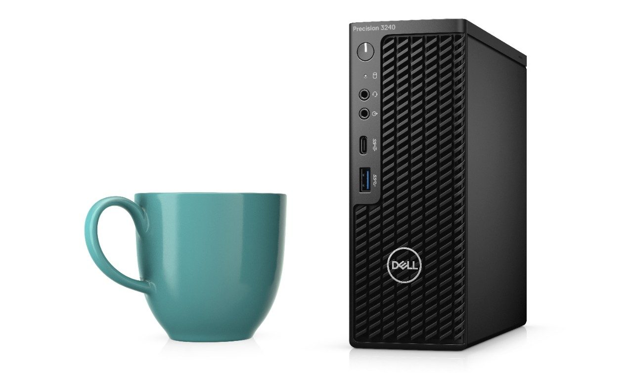 How small is Dell Precision 3240 Compact