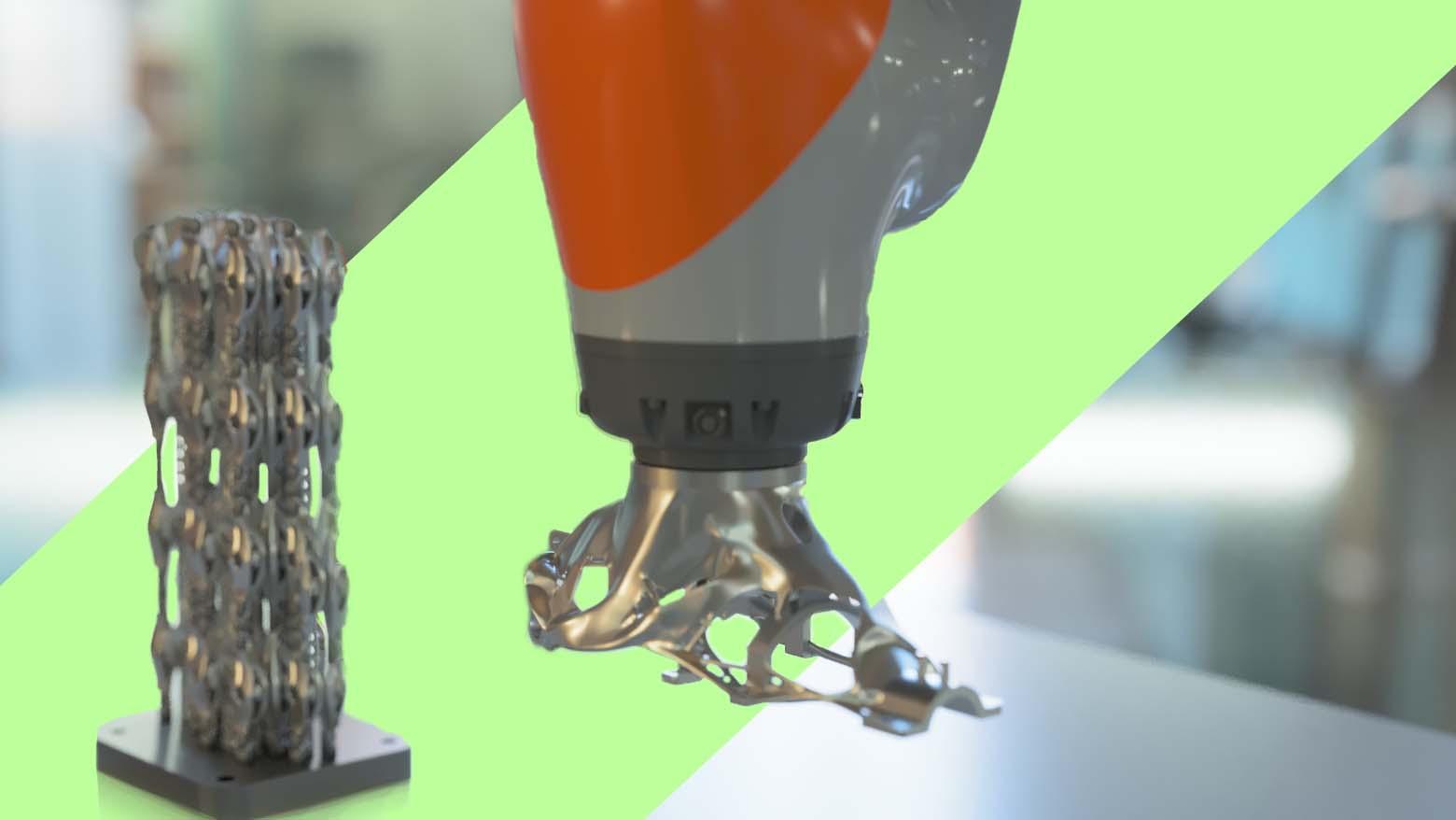 Additive Automations Renishaw SALSA Robot