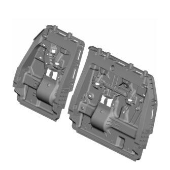 Toyota Sienna Light weight Resin Panels