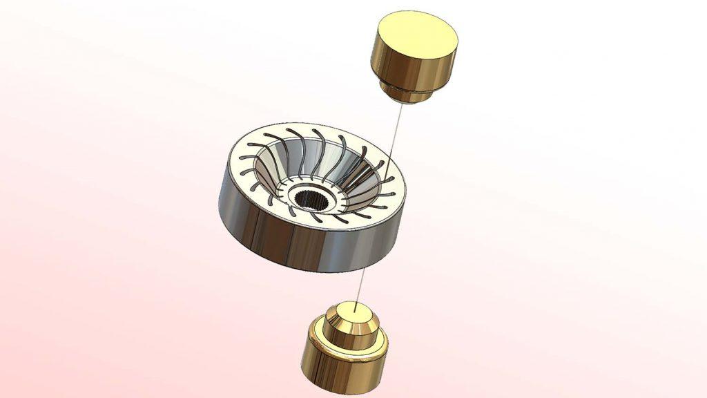 CAMWorks Wire EDM Wheel