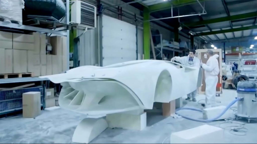 Massivit 3D printed concept car