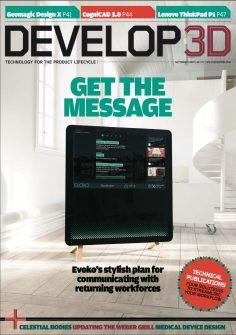 DEVELOP3D Magazine September 2020 Cover